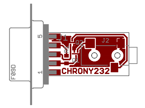 Chrony Serial Board Assembly